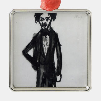 Self Portrait, 1849 Christmas Ornament