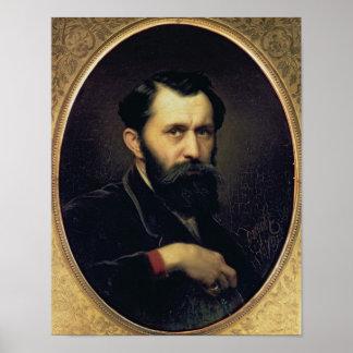 Self Portrait, 1870 Poster