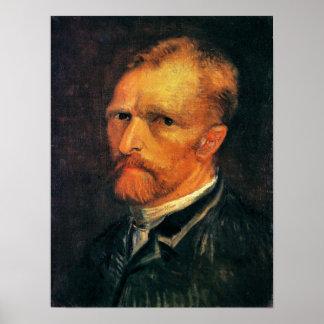 Self Portrait by Vincent van Gogh 1886 Poster