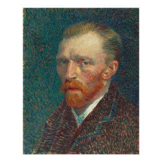 Self Portrait by Vincent Van Gogh 1887 Photo Art