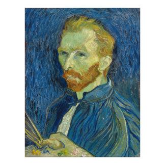 Self Portrait by Vincent Van Gogh 1889 Photo