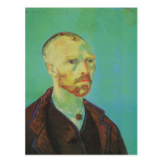 Self-Portrait for Paul Gauguin Van Gogh Fine Art Postcard