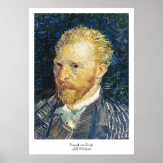 Self Portrait Vincent van Gogh fine art painting Poster