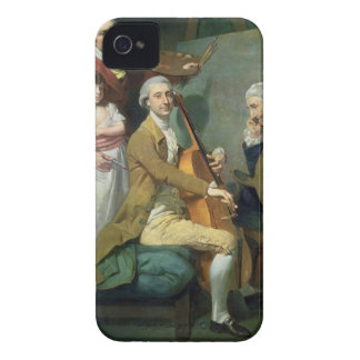 Self Portrait With his Daughter, Maria Theresa (?) iPhone 4 Cases