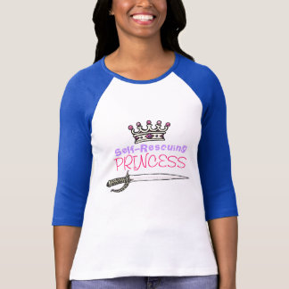 Self-Rescuing Princess T-Shirt