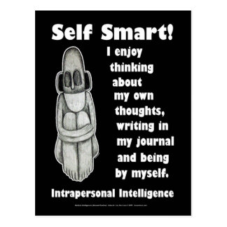 Self Smart - Create a journal Postcard