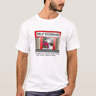 Self Storage Cartoon T-shirt