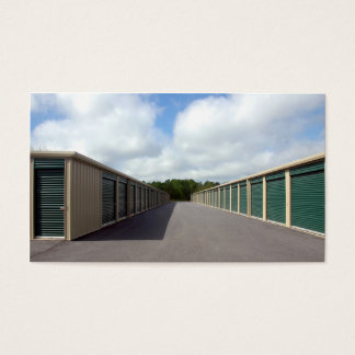 Self Storage Warehouse Business Card