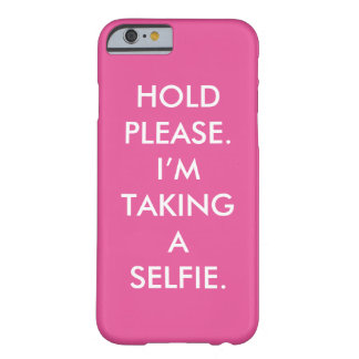 Selfie Cellphone Barely There iPhone 6 Case