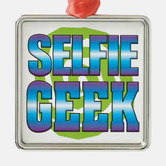 Selfie Geek v3 Christmas Ornament