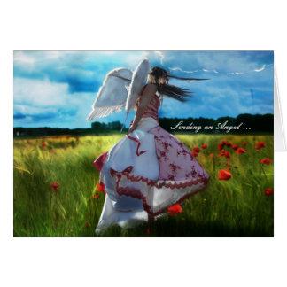 Sending an Angel sympathy card