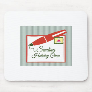 Sending Holiday Cheer Mouse Pads