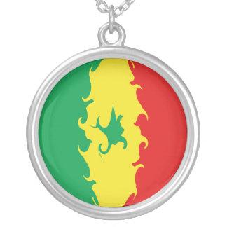 Senegal Gnarly Flag Necklace