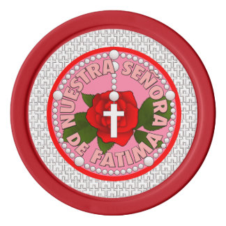 Señora de Fatima Poker Chip Set