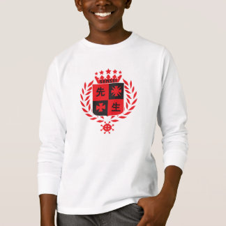 Sensei in red, badge design T-Shirt