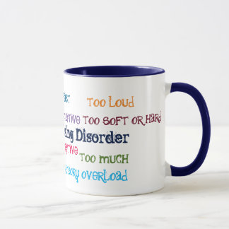 Sensory Processing Disorder Coffee Mug