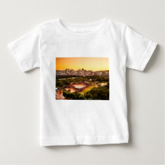 Seoul South Korea Skyline Baby T-Shirt