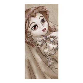 Sepia Bride Rack Card Design