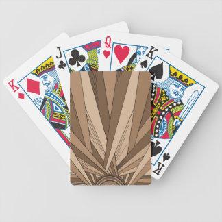 Sepia Sunrise Playing Deck Poker Deck