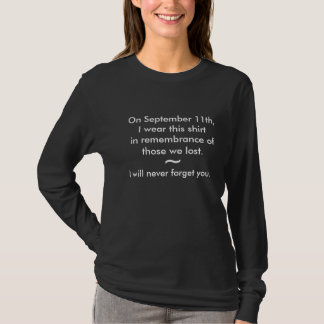 September 11th Remembrance Tee
