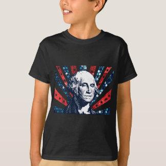 sequin george washington T-Shirt