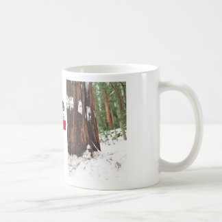 Sequoia in the snow mug
