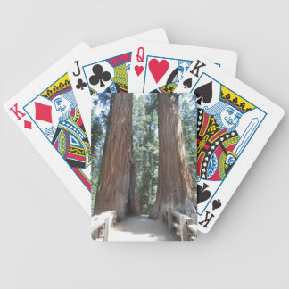 Sequoia National Park Bicycle Playing Cards