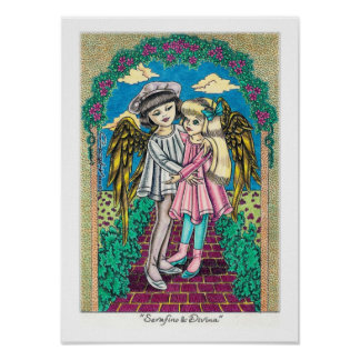 """Serafino & Divina"" Poster"