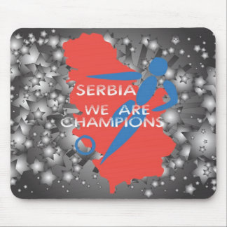 Serbia 2010 mouse pad