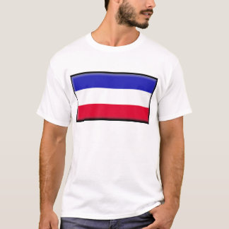 Serbia and Montenegro Flag T-Shirt