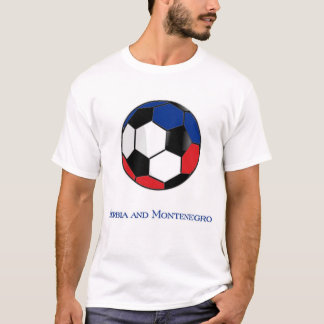 Serbia and Montenegro World Cup Soccer T-Shirt