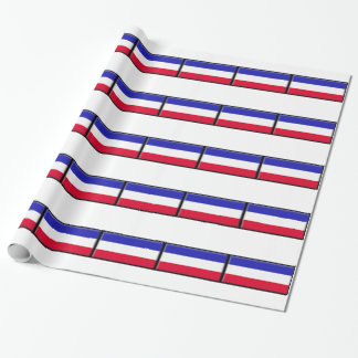 Serbia and Montenegro Gift Wrap Paper