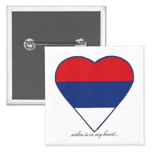 SERBIA PIN