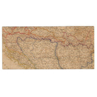 Serbia, Bosnia Wood USB 2.0 Flash Drive