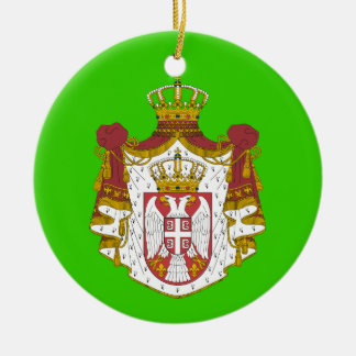 SERBIA* Christmas Ornament