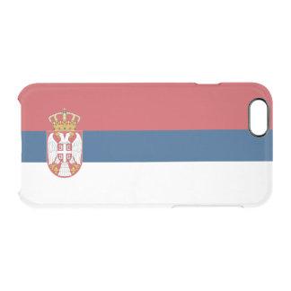Serbia Clear iPhone Case