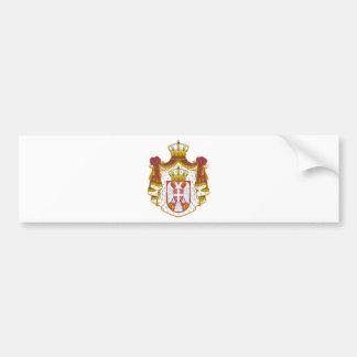 Serbia Coat of Arms Bumper Sticker