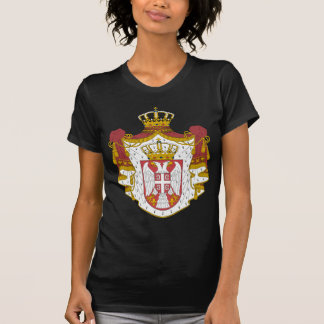 Serbia Coat of Arms Tee Shirts