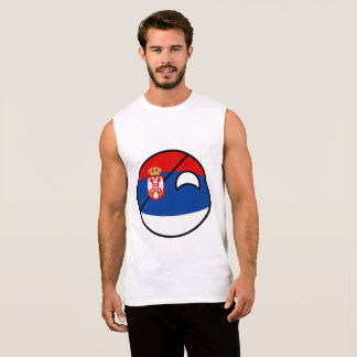 Serbia Countryball Sleeveless Shirt