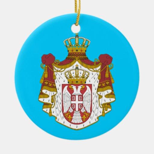 SERBIA* Custom Christmas Ornament