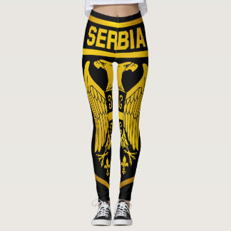 Serbia Emblem Leggings