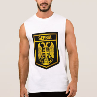 Serbia Emblem Sleeveless Shirt