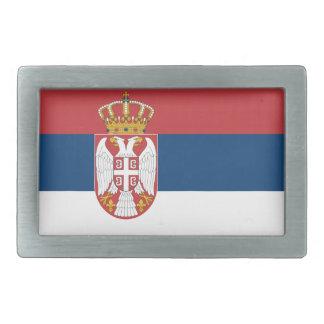 Serbia Flag Belt Buckles