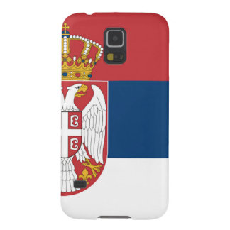 Serbia Flag Case For Galaxy S5