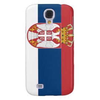 Serbia Flag Samsung Galaxy S4 Cases