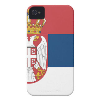 Serbia Flag iPhone 4 Case-Mate Cases