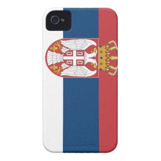 Serbia Flag Case-Mate iPhone 4 Case