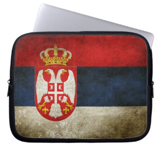Serbia Flag Computer Sleeves