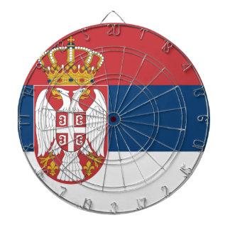 Serbia Flag Dartboard