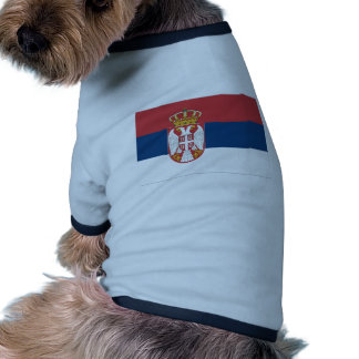 Serbia Flag Doggie Tshirt